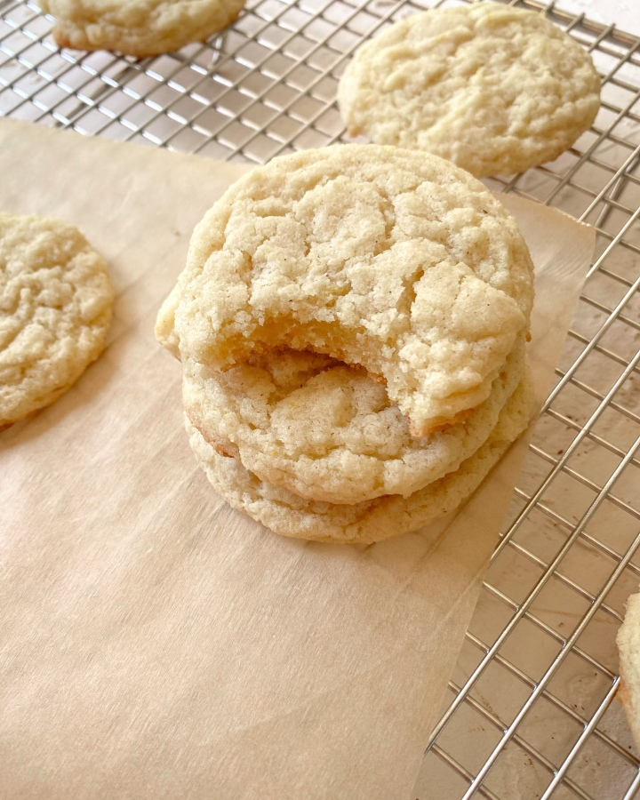 Lemon Vanilla Cookies