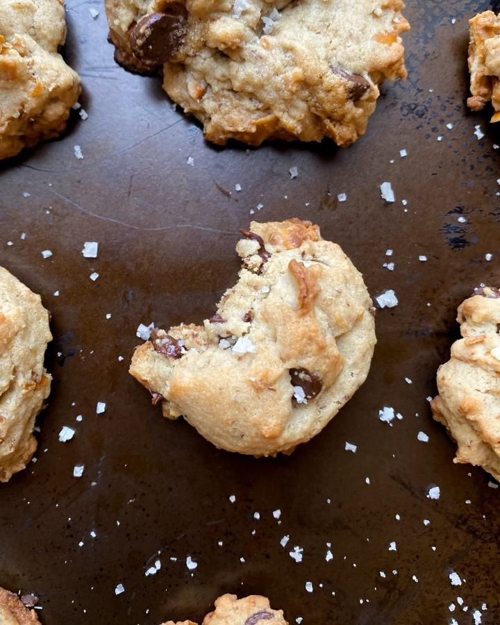 Chocolate-Pretzel Chip Cookies