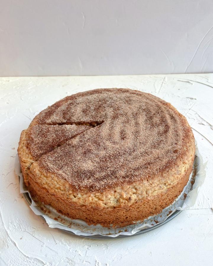 Churro Snack Cake